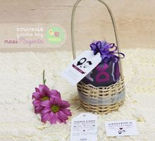 PACKAGING - RATTAN BASKET + TULLE POUCH by Hay.Maca