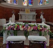 Decor Kapel Santamaria Juanda by nanami florist
