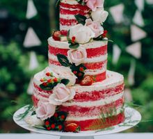 Rustic Naked Cakes by Butter Studio