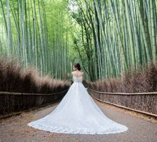 Bespoke wedding dress by Kelly's Bridals