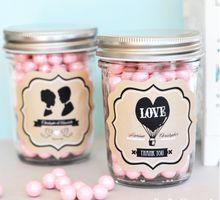 Customize Mason Jar by Cup Of Love Design Studio