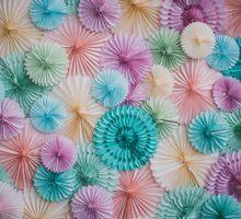 Pinwheel Perfection by The Wedding Stylist