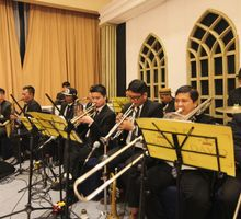 Mini Orchestra Brass Section by JW Marriott Hotel Jakarta