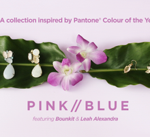 PANTONE inspired collection featuring Leah Alexandra and Bounkit jewellery by Pinwheel Jewels