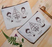Souvenir Pouch Jawa by Plung Creativo