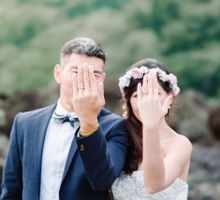 Full Day Prewedding Mountain Waterfall Beach by Gusmank Wedding Photography