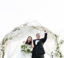 White Themed Wedding by NQ Modern Photography