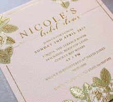Nicole's Bridal Shower by Vinas Invitation