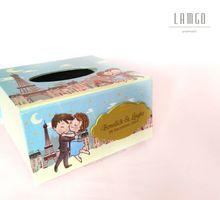 Souvenir Tempat Tissue Kotak Box Unik Lucu Mewah by LamgoSouvenir
