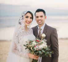 Andy & Acha Wedding Day by Elsie Chrysila Brides