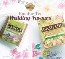 Basilur Tea Wedding Favours by Basilur Tea