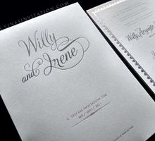 Willy & Irene by Vinas Invitation