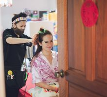 ROM + Wedding × 2 Days by Angel Chua Lay Keng Makeup and Hair