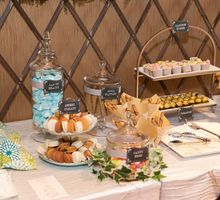 Victor and Verrie's Wedding by The Lair Weddings Candy Bar