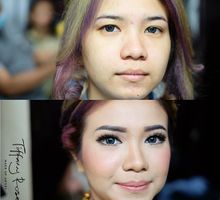 Engagement make-up by Tiffany Roselin Makeup Artist