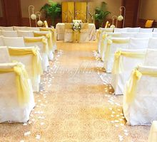 Solemnisation Decor - Christopher & Kellyn by Regent Singapore a Four Seasons Hotel