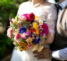 Pops of Colours by Chere Weddings & Parties