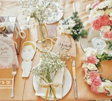 Michelle Gouw Flower Bridal Shower by La Pétite Fleur