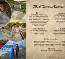 Overseas Pre Wedding Packages 2016 by Vaughn Tan