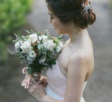 Floral & Garden Wedding Photoshoot by Après Makeup