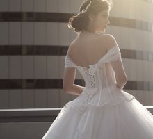 Bride Fashion shoot by Cocoon makeup and hair