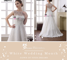 White Wedding Month by Dream Wedding