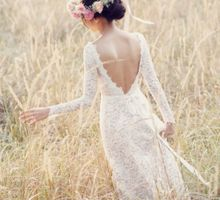 Ethereal lace by Anseina Brides