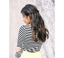 Caught on Film - Waterfall Braids by TangYong Hair & Makeup