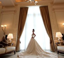 Bridal Photo Shoot by The Fullerton Hotel