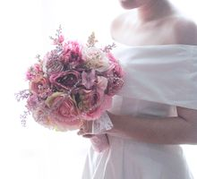 Glamour Gold and Pink by Cup Of Love Design Studio