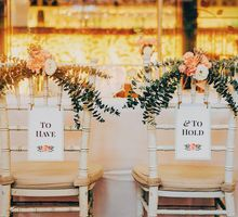 Whimsical French Vintage - Wedding at Nosh by Amperian
