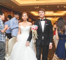 AD Wedding of Kenny & Grace by Hotel Jen Tanglin, Singapore