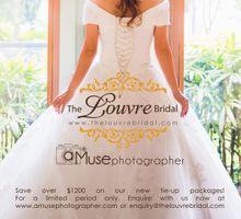 The Louvre Bridal & aMusephotographer by The Louvre Bridal