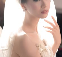 Wedding makeup for Caroline by Lala Lim makeup artist