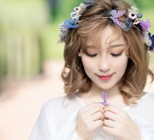 The Butterflies and Flowers by Cocoon makeup and hair