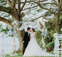 Wedding of Alson & Jolene by Rosette Designs & Co