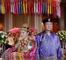 Edmond & Shiji // Peranakan wedding // split day // holy matrimony // church wedding // next day edit // 2013 by Conrad Centennial Singapore