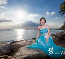 Lovely photoshoot in Sunny Singapore by Dream Wedding