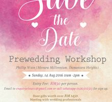 Prewedding Workshop 2016 by Kres Bridal Connoisseur