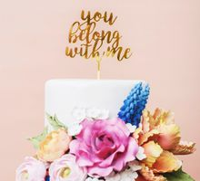 Color Code Wedding Cake by Bakerzin