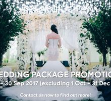 Wedding Package Promotion by Gardens by the Bay