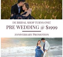 Promotion Deals in Dec by De Bridal Shop