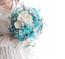 Dreamy Tiffany Blue by Cup Of Love Design Studio