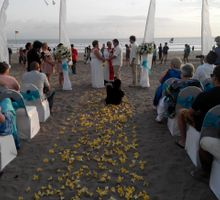 Double Six Beach Wedding by Batik Bali Wedding