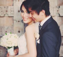 Hengky & Meidy by felicia sasongko wedding make up