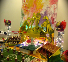 For the World Cup & Mardi Gras- loving couple by SALTS Cake Couture