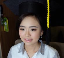 Graduation Makeup of Ms. cathleen  by Chrestella Lorita MUA