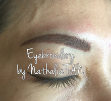 Eyebrow Embroidery  by Nathalia TAN Makeup Artist