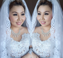 Wedding of shelvany by deZee Makeup and Wedding service