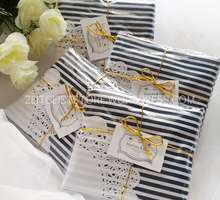 Stripes Folding Bag for Shabrina & Didi by ZEITGEIST